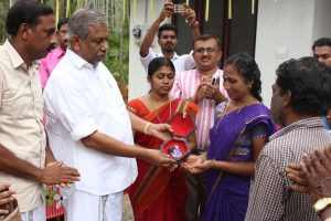 Key handover Ceremony of House built under the project