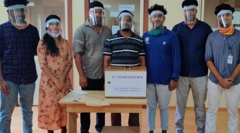 Vidya Skill Centre develops UV sterilizer and other products
