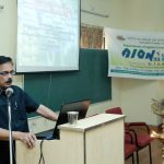 Dr.T. K. DHAMODARAN,chief guest, delivering talk on