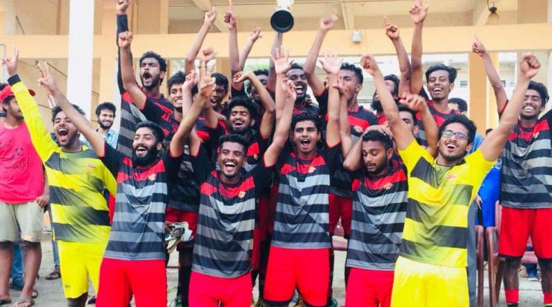 Vidya wins championship in KTU E Zone football tournament