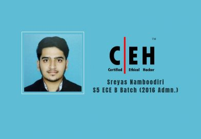ECE student gets qualified as  Certified Ethical Hacker