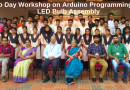 EEE Dept organises workshop on Arduino and LED bulb for polytechnic college students