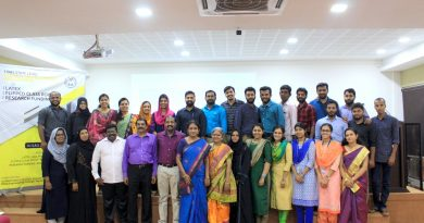 Three  resource persons from Vidya for a FDP at MEA Engg College, Perinthalmanna