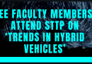EEE faculty members attend 5-day STTP on Trends in Hybrid Vehicles