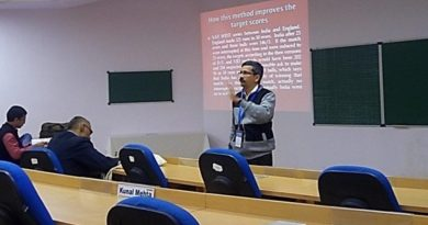 """Prof Jayadevan improves """"Jayadevan's system""""!"""