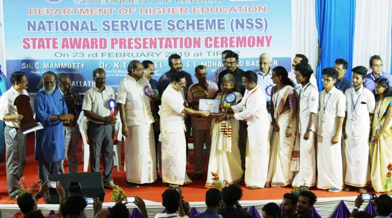 NSS units of Vidya receive three State Awards