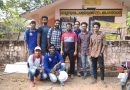 NSS units install a solar power system at an Anganwadi in Velur