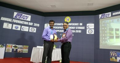 ECE HoD delivers invited lecture in International Conference