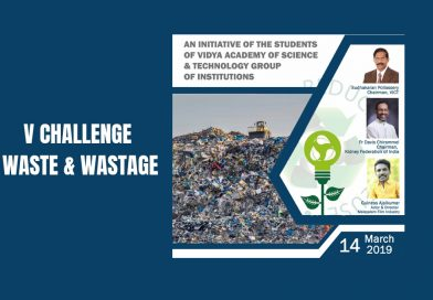 "Vidya is preparing to launch a new initiative: ""V Challenge Waste  and Wastage"""