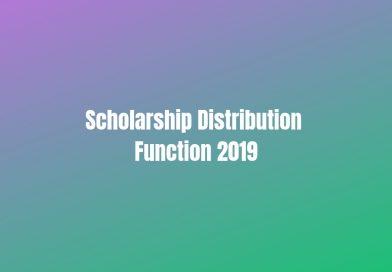Vidya's Scholarship Distribution Function: Date finalised