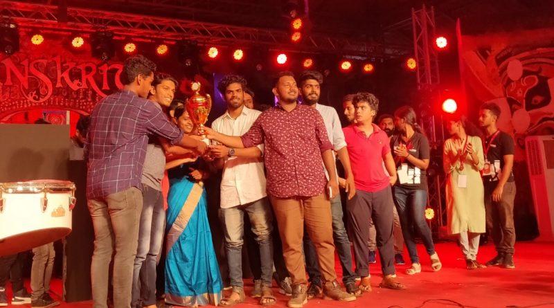 Vidya students bag Overall Championship in SANSKRITI 2K19