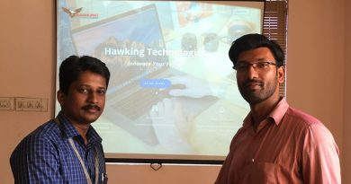 Hawking Technologies and Jaldee offer placements to 8 students
