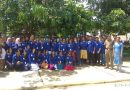 NSS volunteers on Swatch Bharat Mission at Thrissur Railway Station