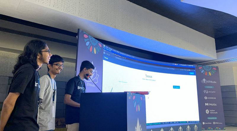 CSE student participates in an international hackathon and wins prize