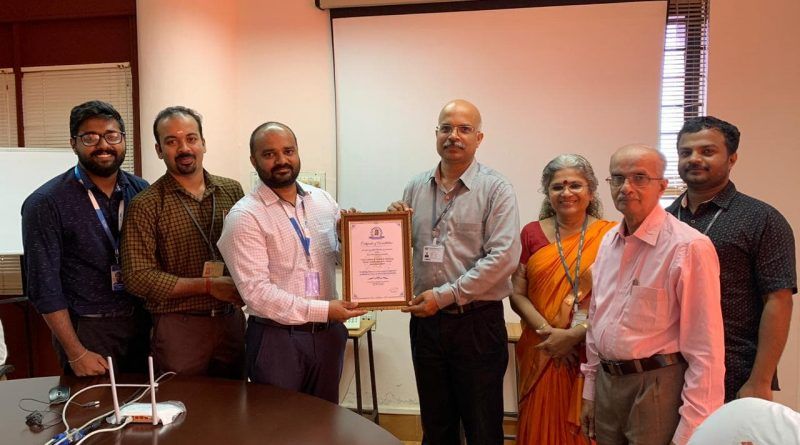 Vidya becomes the first educational institution in Kerala to be accredited by AICRA