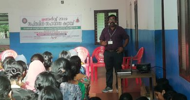 ME Dept faculty gives invited talk in NSS Special Camp 2019 of Carmel College