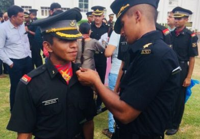 Vidya's alumnus joins Army as Lieutenant: Makes Vidya proud