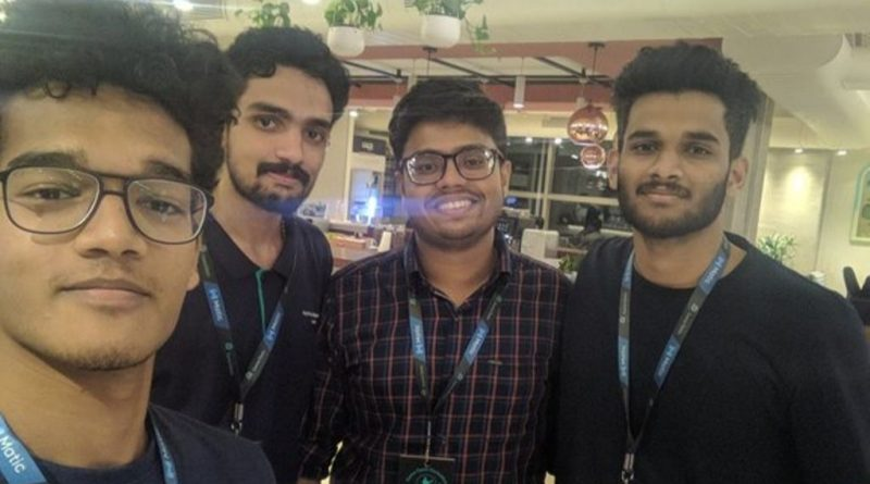 Vidya's students shine in global events: win two prizes in Game Oasis Hackathon