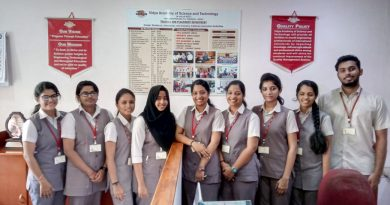 Section of the students placed with Speridian Technologies and Experion Technologies