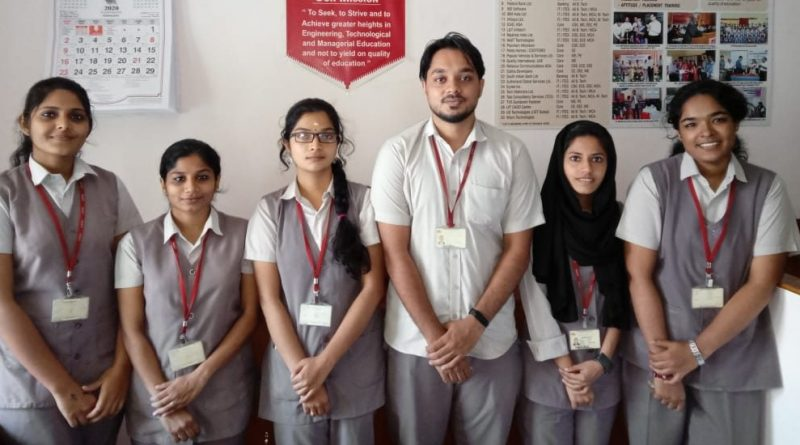 Hexaware placed students from the 2020 pass out batch CSE, ECE and EEE branches.