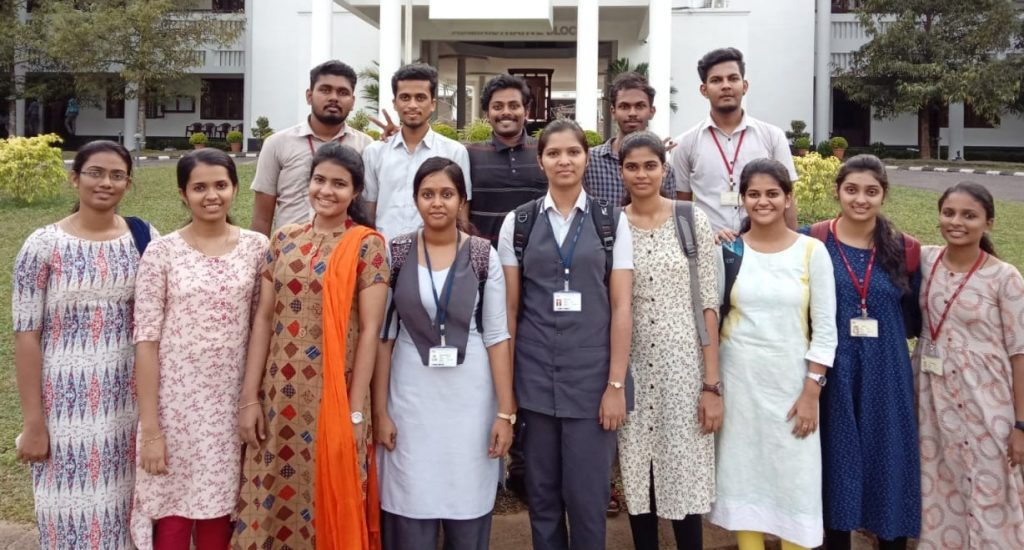 2020 pass out students participating in the final rounds of Infosys CRD 2020 through KTU