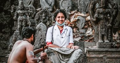 Image of Vidya student in a COVID 19 photo-tribute goes viral