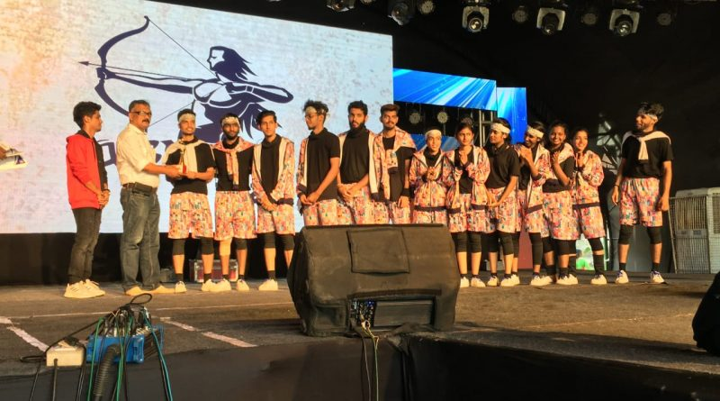 D' Addiction Dance Club secures first prize in ASTHRA 2020