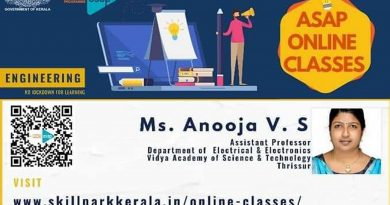 EEE faculty conducts online class under ASAP