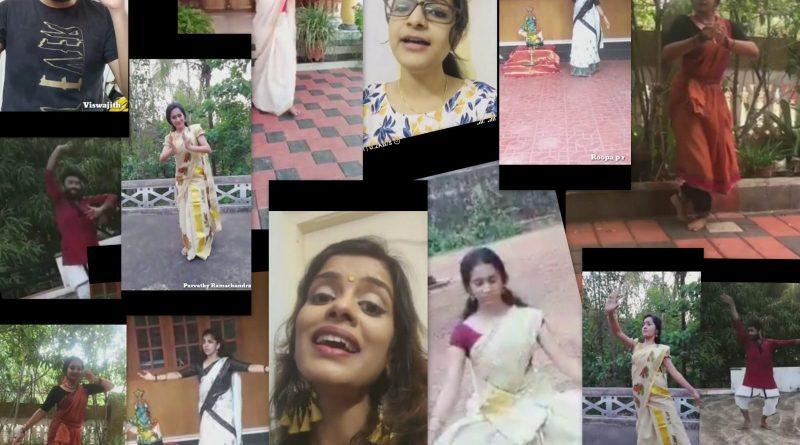 Vidya's students and alumni organise prayer dance against COVID 19