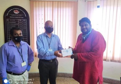 Vidya alumni donate sanitizers, gloves and thermal scanners to their alma mater
