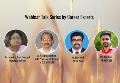 Vidya continues with the series of talks by Career Experts