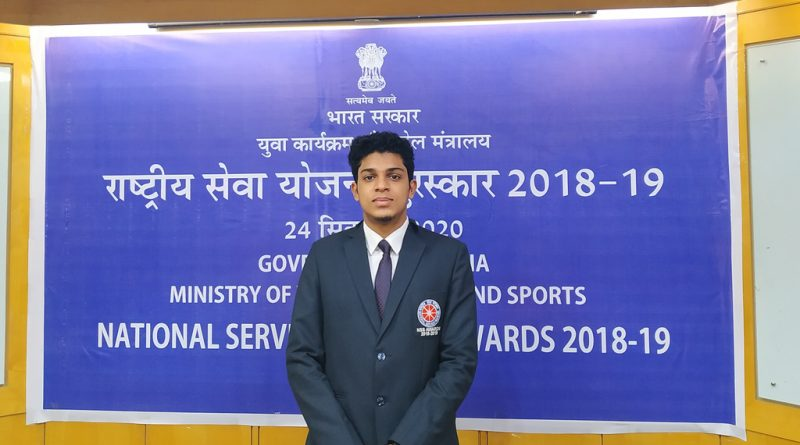 Sreehari receives National Award from honorable President of India