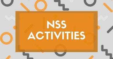 NSS units observe important days in the week