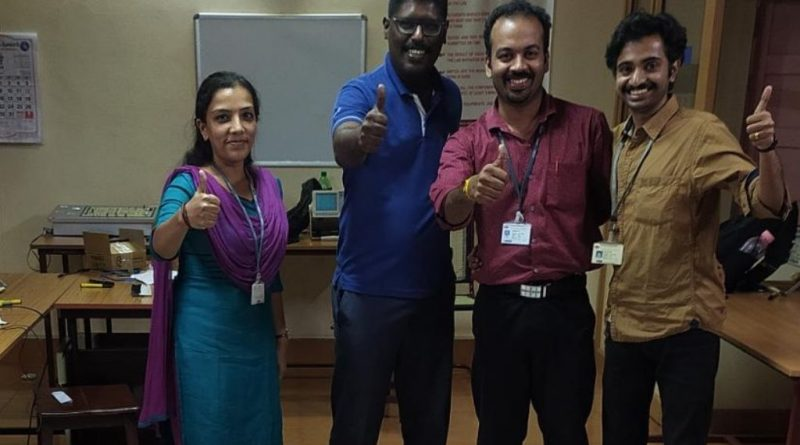 Vidya's team gets appreciation from IIT Bombay for its performance in e-Yantra