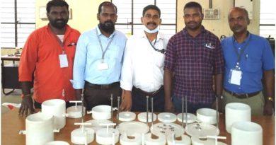 ME Dept's technical staff fabricate CBR test machines