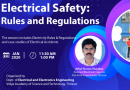 """Special invited talk on """"Electrical Safety: Rules and Regulations"""""""