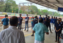 Vidya's NSS volunteers set up a hanging garden in Pudukkad Railway Station