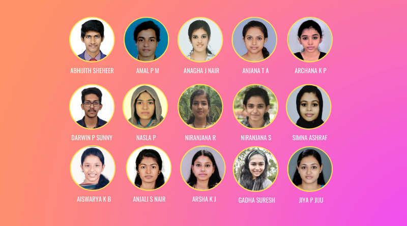 15 students score perfect 10 SGPA in S4 B Tech exams