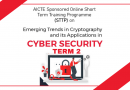 CSE Dept conducts second edition AICTE sponsored STTP on emerging trends in cryptography