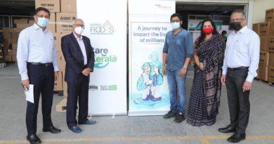 Vidya's alumni in UAE donate oxygen cylinders to hospitals in Kerala