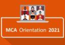 MCA Dept organises Orientation Programme for freshers